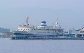 "Hakodate City Seikan Ferry Boat Memorial hall ""MASHU-MARU"""